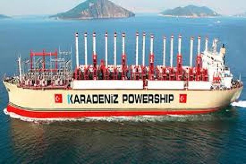 Karadeniz Powership, Sierra Leone`de elektrik üretecek